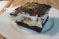 Çikolata Soslu Muzlu Pasta (Muhteşem Lezzet)