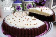 Tart Kalıbında Kakaolu Kremalı Kek -15