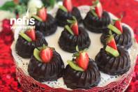 Çikolata Kaplı Mozaik Şık Sunum -12