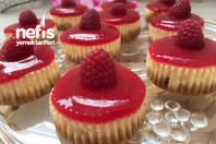 Frambuazli Minik Cheesecakler ( Bayilacaksiniz) -7