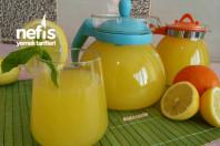 4 Limon 1 Portakal ile Doğal Limonata (Acısız Garanti Lezzet) -11