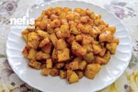 Kahvaltılık Sarımsaklı Patates Tava