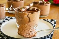 Yumurtasız Çikolatalı Mousse Tarifi (Sadece 3 Malzemeden) -7
