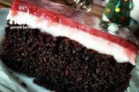 Efsane Aladağ Pastası ( Tepside Çilekli Yaş Pasta) -1