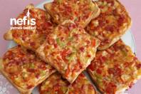Kahvaltılık Pizza Ekmekleri