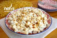 Közlenmiş Patlıcanlı Makarna Salatası Tarifi (videolu)