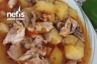 Tavuklu Sulu Patates Yemeği