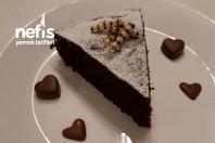 Yoğun Çikolata Dolgulu Nutellalı Kek -4