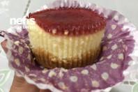 Çilekli Mini Cheesecake