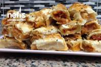 Milföylü Patatesli Börek misafirlere Haftasonu Kahvaltılısına