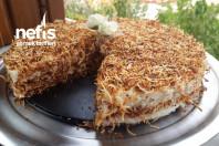 Muhallebili Kadayıf Pastası