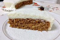 Enfes Kremalı Havuçlu-Tarçınlı- Cevizli Kek