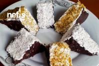 Kremalı Kakaolu Üçgen Pasta
