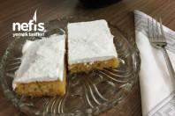 Revani Tatlısı Karamelize Şerbetli ( Ekmek Kadayıfı Tadında )