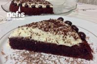 Şahane Beyaz Çikolatalı Kremasıyla Yumuşacık Tart Pasta -1