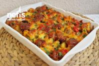 Fırında Sucuklu Patatesli Nefis Kahvaltılık -10