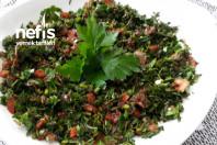 Antakya Usulü Kekik Salatası Tadına Doyulmaz Lezzet.