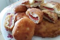 Kahvaltıya Şipşak,mayasız İçli Pişi (pizza Tadında ,pratik Ve Nefis).