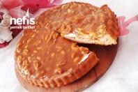 Snickers Tadında Fıstıklı Karamelli Pasta