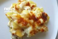 Beşamel Soslu Tavuklu Patates