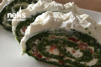 Glutensiz Ispanaklı Rulo Salata