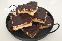 Hem Karamelli Hem De Çikolatalı Beğeni Rekoru Kıran Evde Snickers Yapımı -1