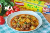 Patatesli Sulu Köfte Yemeği Videosu