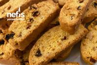 Nefis Bademli Biscotti Kurabiye Tarifi (İtalyan Kurabiyesi)