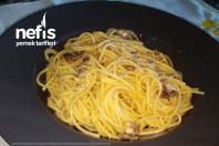 Kremalı, Mantarlı,tavuklu Spagetti(sosunda Kendi Suyu Var, Vitamini Bol)