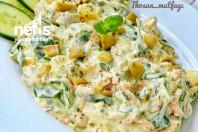 Özel Soslu Patates/semizotu Salatası o-cc-88zel-soslu-patates-semizotu-salatasi