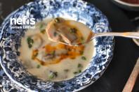 Kremasız Sarımsaklı Sütlü Mantar Çorbası