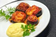 Fırında Kaşarlı Kıymalı Patlıcan Dilimleri