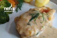 Nefis Soslu Fırında Somon Balığı
