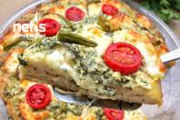 Pestolu Kahvaltılık Kolay Pizza