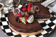 Hindistan Cevizli Bol Çikolatalı Pişmeyen Nefis Pasta